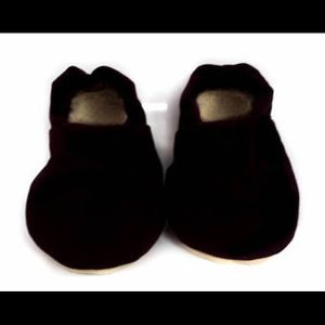 Other - Black baby moccasins